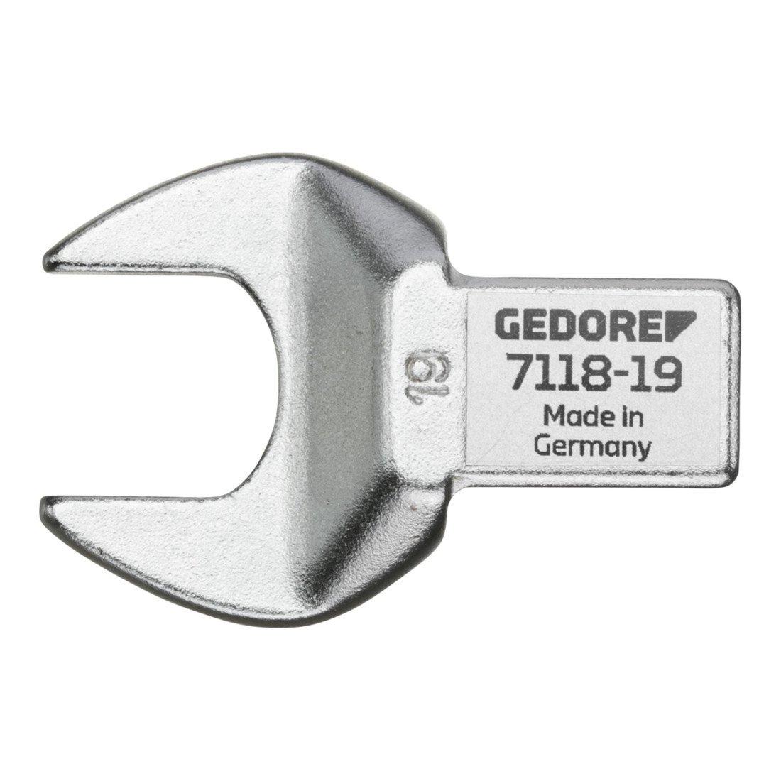 GEDORE 7118-24 Einsteckmaulschl/üssel SE 14x18 24 mm 14 x 18 x 24 mm