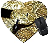 Manufacture:MADE IN USA. Designed, Printed and Shipped out of our California Facility.   Features:Our heart-shaped mousepad is made of natural rubber with Fabric. High quality cloth weave surface bonded to a special NON-SLIP 100% natural Eco-Frien...