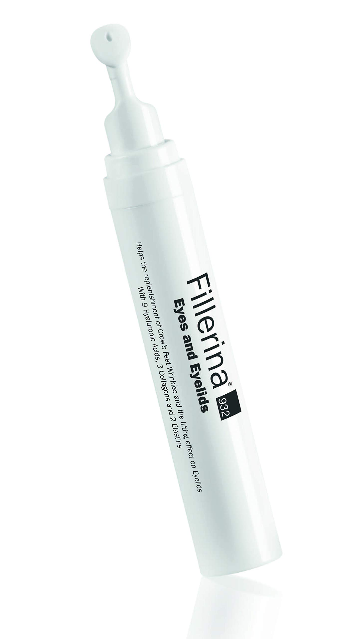 Fillerina 932 Eyes and Eyelids - Eye Treatment That Fills In Under Eye Hollowness, Smooths Crows Feet, and Tightens Eyelids – Hyaluronic Acid and Collagen Eye Treatment (Grade 5)