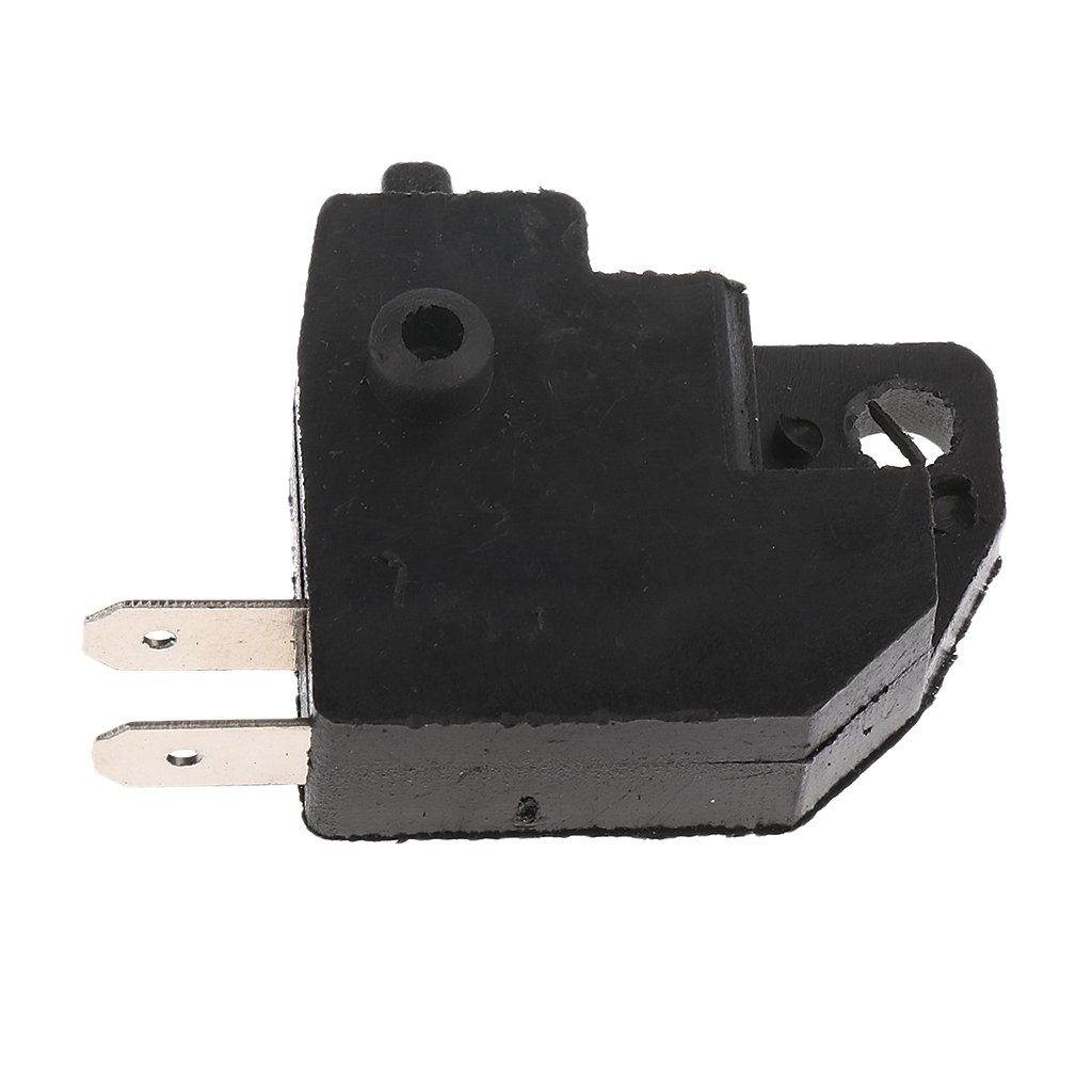 MonkeyJack Front Under Lever Right Switch Kit Brake for Motorcycle Scooter Black
