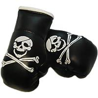 Mini Guantes de boxeo Calavera//pirata calavera, 1par (2pieza)