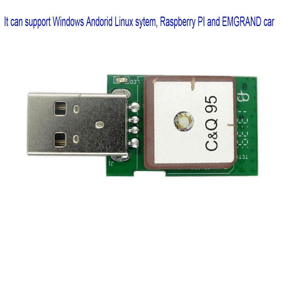 vklsvan vk-172/Gmouse G-mouse USB GPS//GLONASS Navigazione Ublox USB supporta Windows 10//8//7//Vista//XP//CE