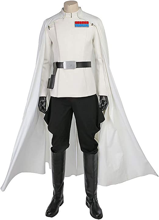 QWEASZER Star Wars Rogue One, Traje de Orson Krennic Chaqueta de ...