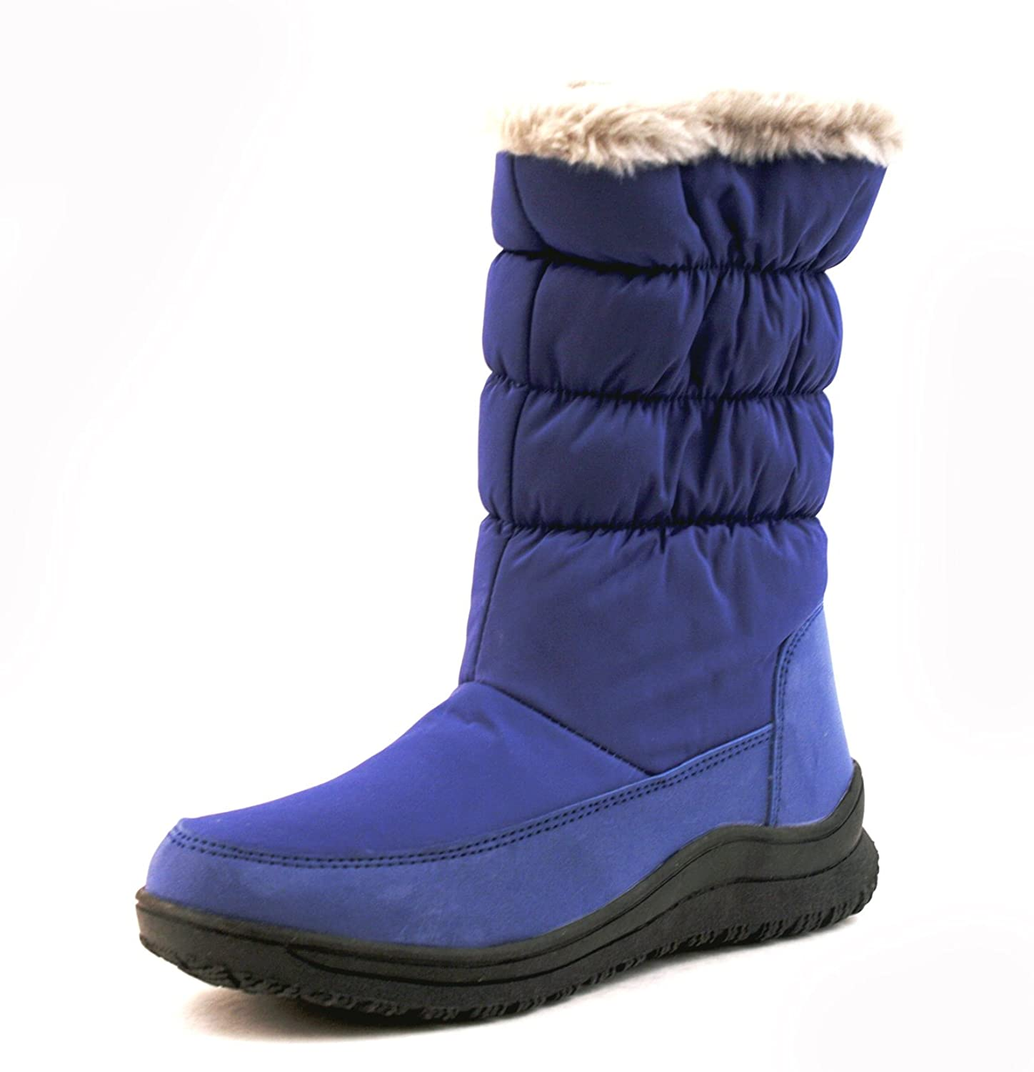 Luckers Women's Blue Snow Boots
