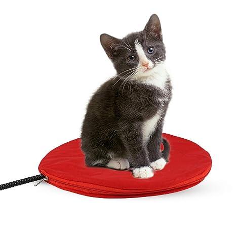 PETCUTE Manta Eléctrica para Perros Cojín de Calefacción para Mascotas Almohadilla de Calentamiento para Perros y