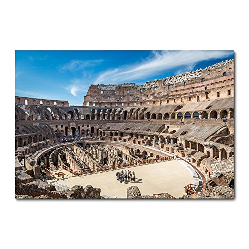 Placa Decorativa - Coliseu - Roma - 2236plmk