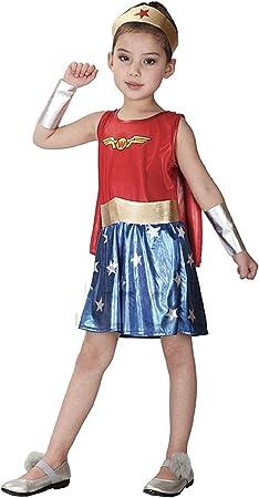KIRALOVE Disfraz - Disfraz - niña - Mujer Maravilla - Disfraces ...