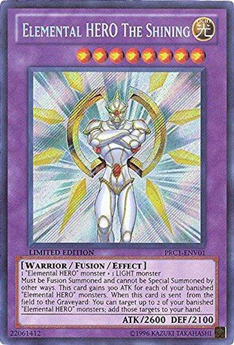 Yu-Gi-Oh! - Elemental HERO The Shining (PRC1-ENV01) - 2012 Premium Tin - Limited Edition - Secret Rare Konami