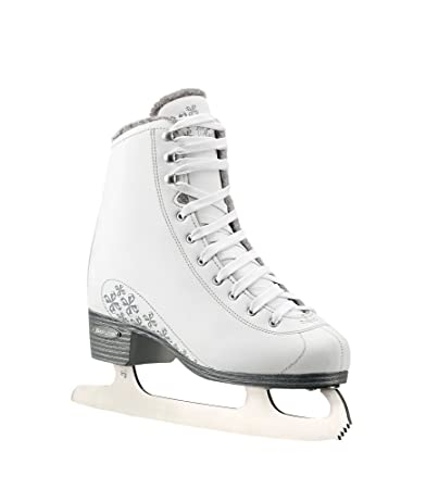 Bladerunner Ice by Rollerblade Aurora Junior Figure Skate, White, Ice Skates