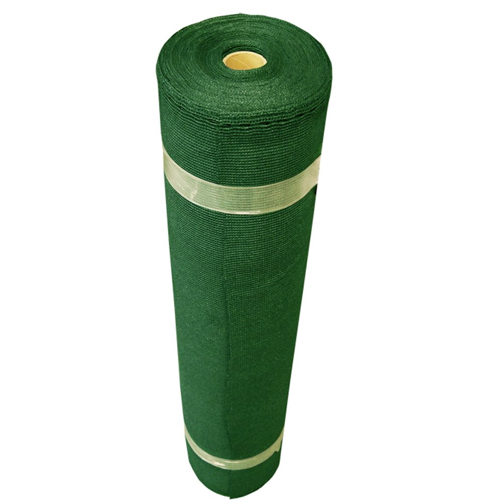Coolaroo Light Shade Fabric Roll 12ft by 50ft Forest Green by Coolaroo