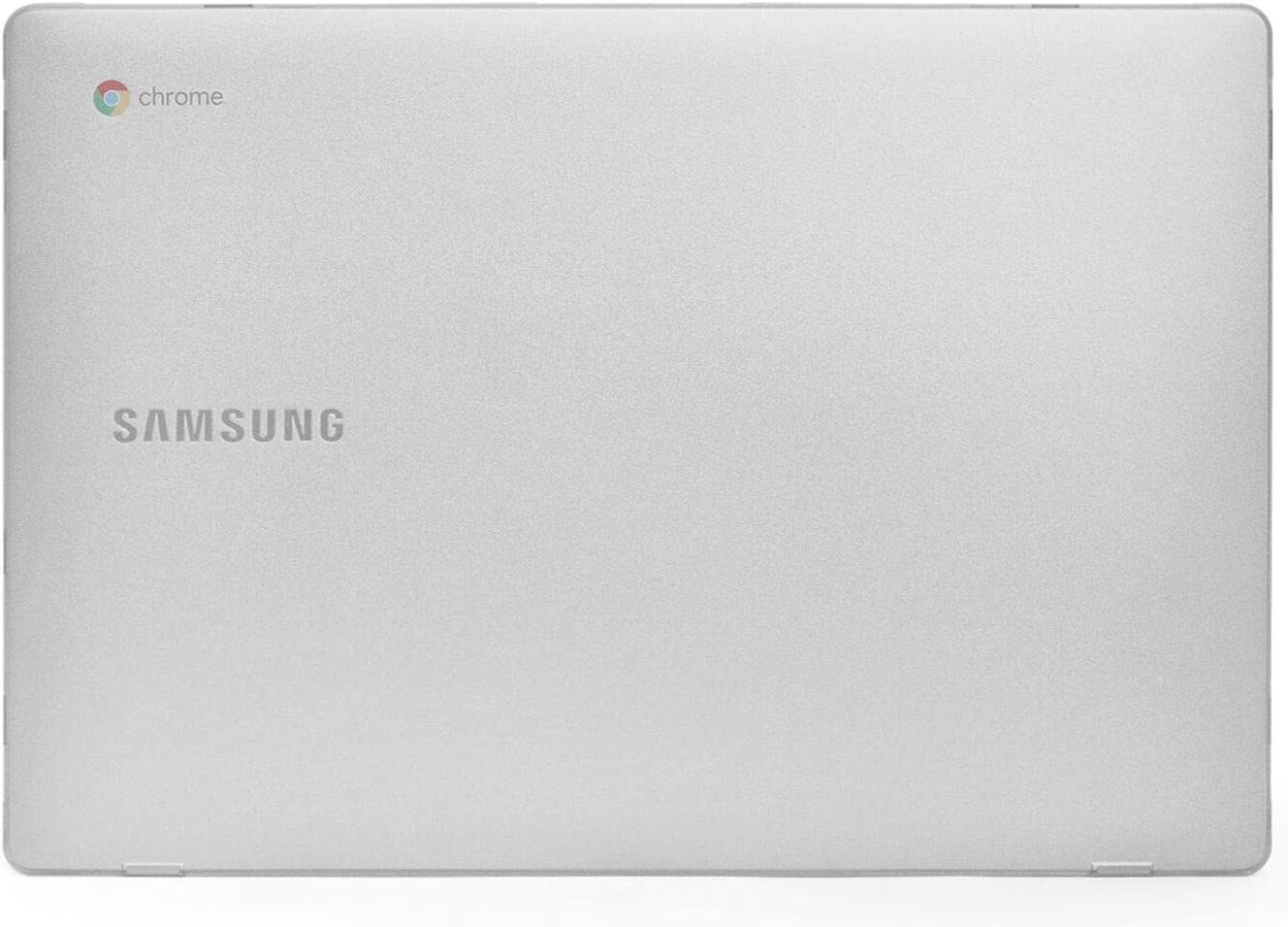 mCover Hard Shell Case for New 2020 15.6'' Samsung ChromeBook 4+ XE350XBA Series Laptop (Clear)