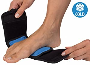 "NatraCure Cold Therapy Wrap (Regular) with 14"" Strap - for Hand, Foot, Wrist, Elbow - FBA715 CAT"