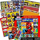 Marvel Heroes Avengers Stickers Boxed Activity Set ~ Over 1000 Stickers ~ Avengers, Spiderman, Captain America, Thor, The Hulk, and More!