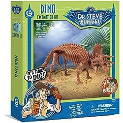 Geoworld Dino Excavation Kit-Triceratops Skeleton Science