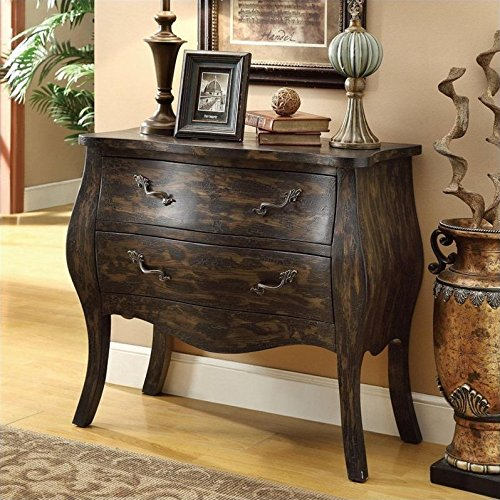 Coaster Accent Cabinet-Marbled Sepia ()
