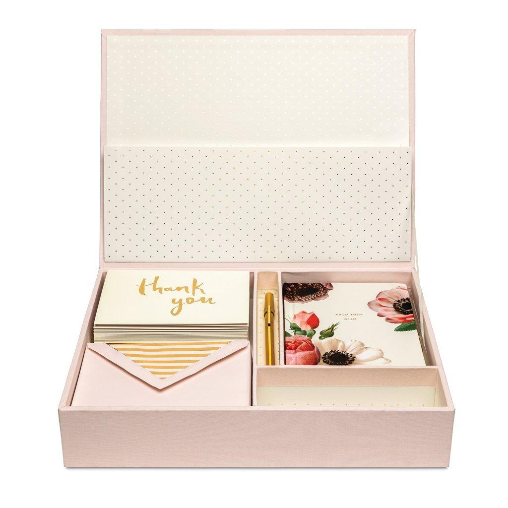 Kate Spade New York Women's Bridal Keepsake Box, Blush