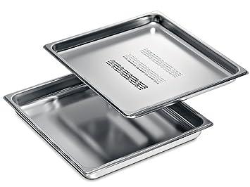 Siemens HZ36DB accesorio para bandejas de horno Acero ...