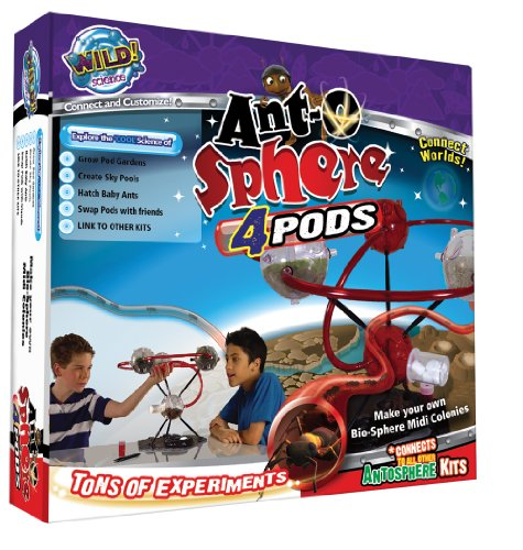 Wild Science Ant-O-Sphere 4-Pods by Wild Science