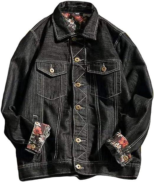 YiTongメンズ コート ジャケット デニム ジャンパー 長袖 メンズ ジージャン かっこいい アウター ゆったり 韓国風コート 通勤 通学 アウトドア ファッション ジャケット ストリート