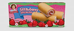 Little Debbie Snack Cakes 2 Regular Size Boxes (Strawberry Shortcake Rolls)