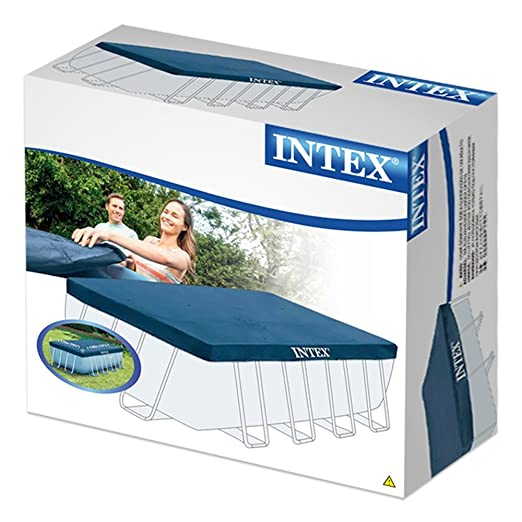 Intex 28037 - Cobertor piscina rectangular Prisma Frame 400 x 200 cm: Amazon.es: Jardín