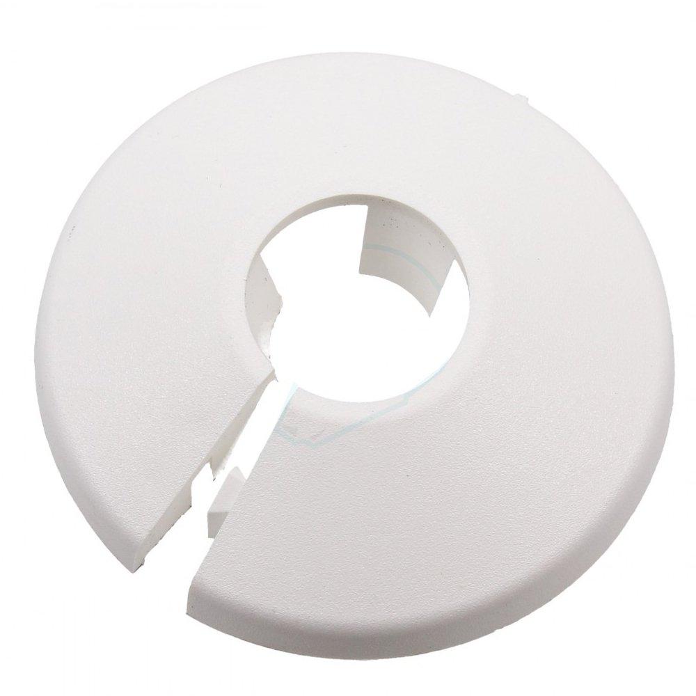 Talon PC22/10 Rohr-Halsband, weiß , 22 mm, Set 10 Stü ck