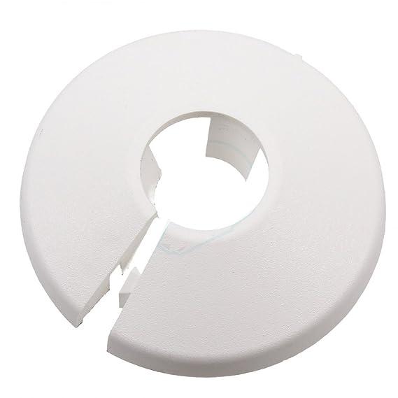 Talon PC22/10 Rohr-Halsband, weiß, 22 mm, Set 10 Stück