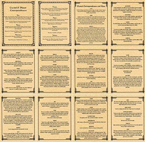13-book-of-shadows-pages-on-crystal-gemstone-correspondences-witchcraft-wicca-metaphysical-magick-li