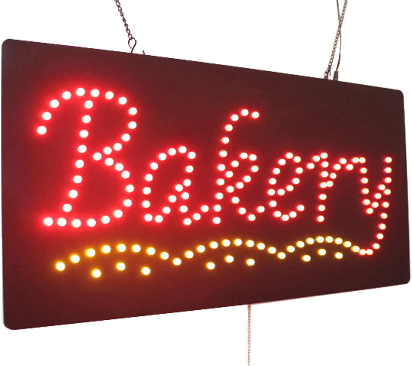 Bakery Sign, TOPKING Signage, LED Neon Open, Store, Window, Shop, Business, Display, Grand Opening Gift