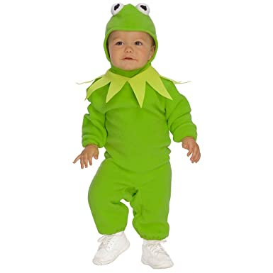 rubies kermit the frog child romper halloween costume toddler 885831