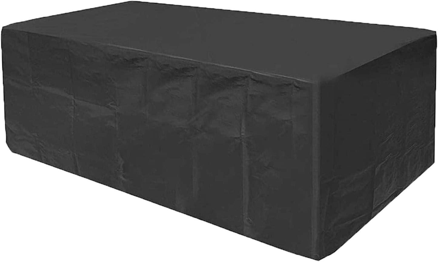 ZXHQ Cubierta De Muebles JardíN 70x70x120cm, Funda Muebles Terraza Exterior, Protectora para Mesa De Patio A Prueba DecoloracióN Impermeable Anti Rayos UV para Sofa Mesas Y Sillas