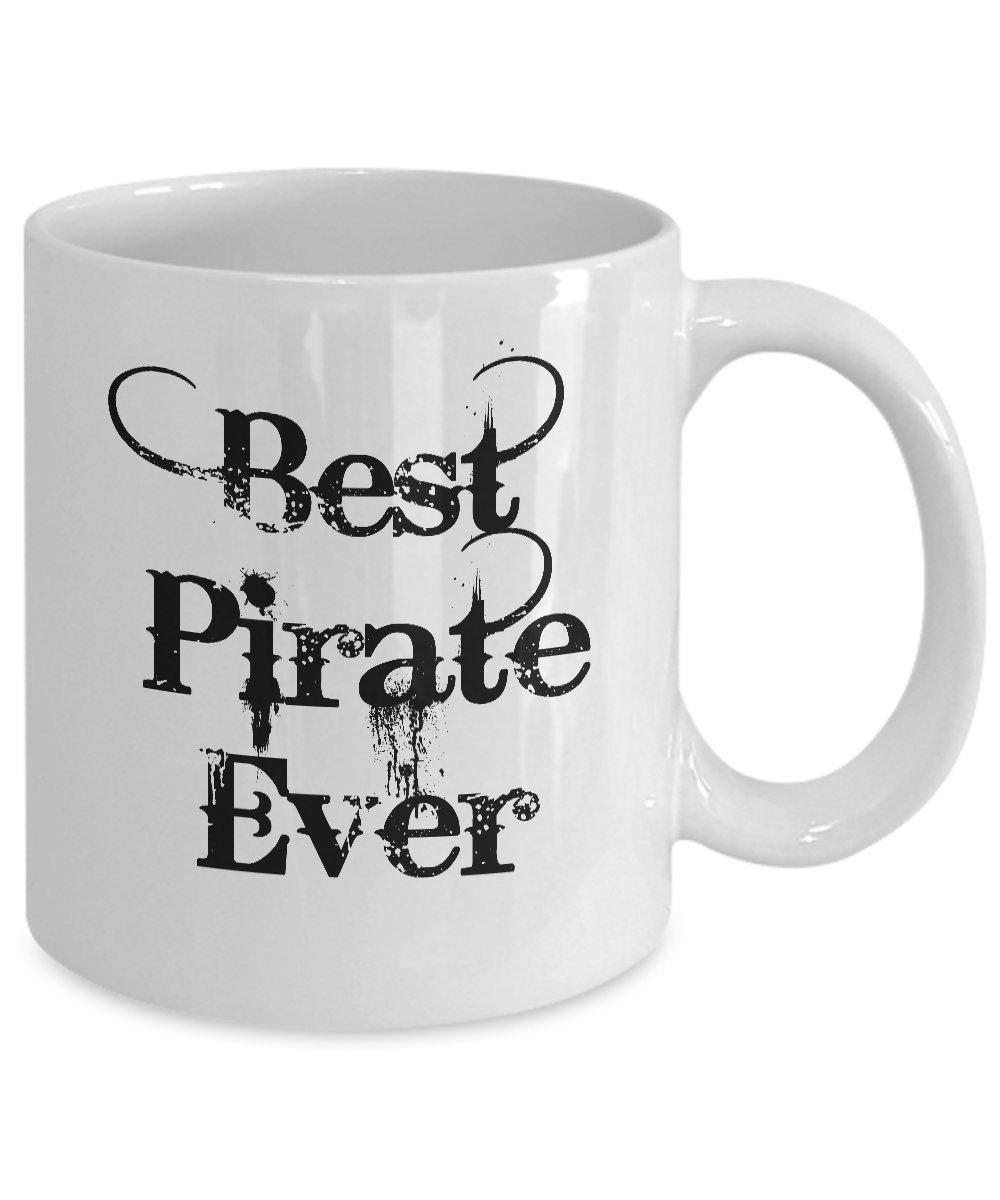 Amazoncom Pirate Gifts Best Pirate Ever 11 Oz Coffee Mug