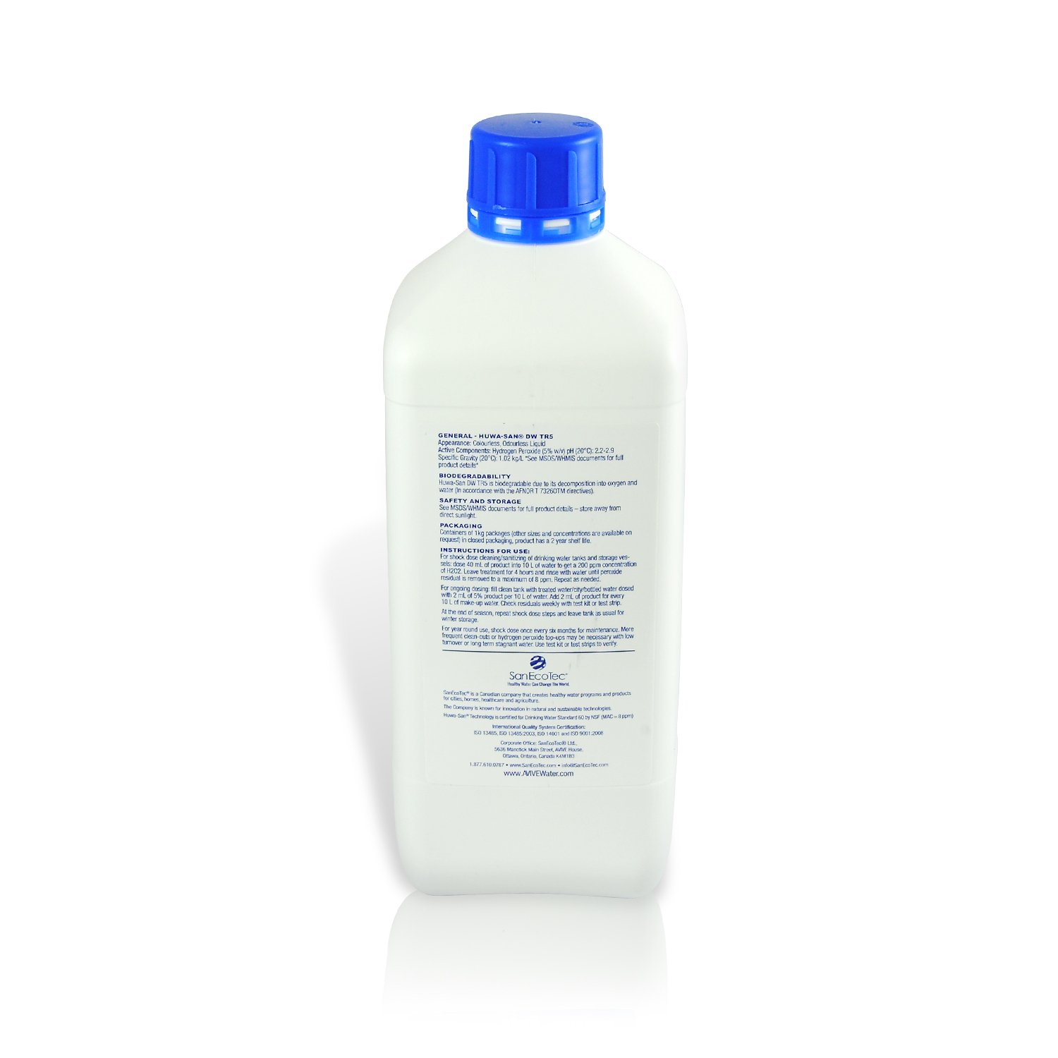 Pool and Boat Deck Cleaner With 19 5% Hydrogen Peroxide