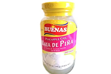 Gelee Dananas Sucree (Nata De Pina) - 12oz (Pack of 6)