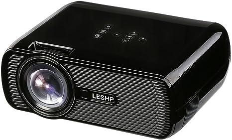 sweepid Multimedia LED Proyector de vídeo 1080p HD 1200 lm Con ...