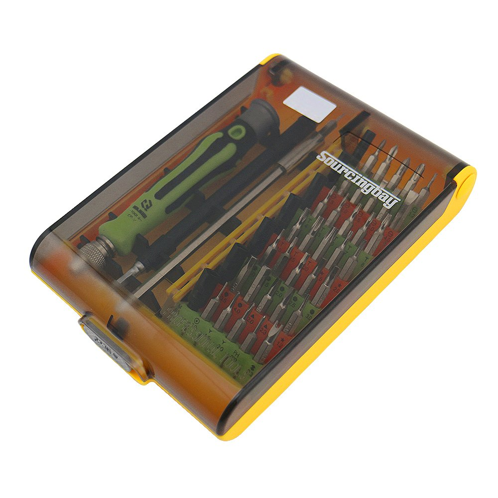 45 in 1 precision screwdriver set laptop pc doctor micro repair tool kit ebay. Black Bedroom Furniture Sets. Home Design Ideas