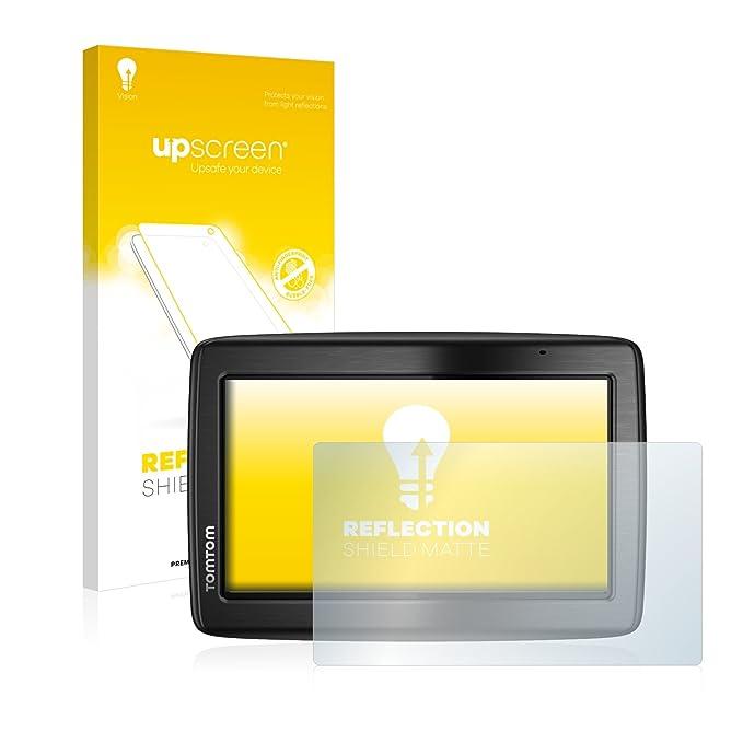upscreen Matt Schutzfolie für Tomtom Via 135 M Europe Traffic – Entspiegelt, Anti-Reflex, Anti-Fingerprint