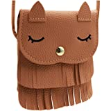 Tassel Saddle Bag Crossbody Purse Small Shoulder Bag Satchel for Women Girls