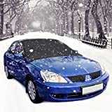 Windshield Sunshade Cover, MDEK Sun Shade Protector, Waterproof Frost Covers Anti Foil Ice Dust Sun Aluminum Shield Screen Protector for Most Cars, SUV, Truck, Van (83 x 47 in)