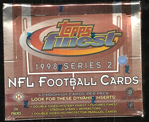 RIES 2 FOOTBALL BOX PEYTON MANNING MYSTERY FINEST ROOKIE ?? ()