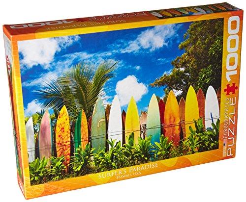EuroGraphics Surfers Paradise, Hawaii Puzzle (1000-Piece)