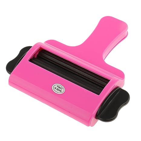 Sharplace Tubo Dispensador Rolling de Exprimidor Fácil de Pasta de Dientes de Plástico Color Aleatorio