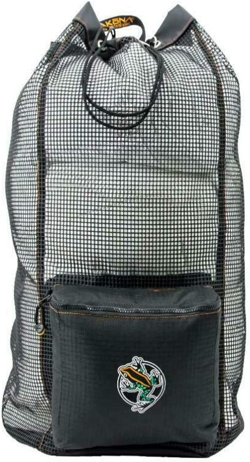 AKONA Huron DX. A deluxe Mesh Backpack with PVC coated mesh