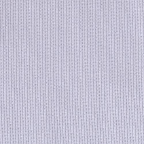 Lavitex 2X1 Rib Knit White Fabric by The ()