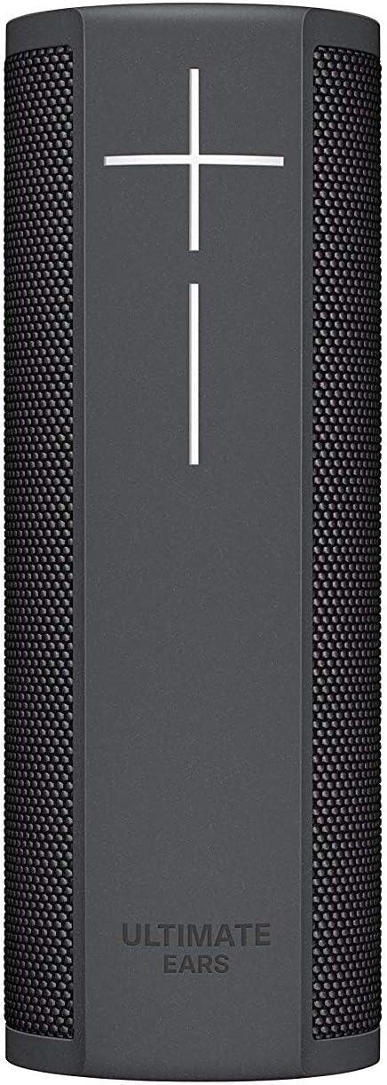 Ultimate Ears BLAST Portable Wi-Fi/Bluetooth Speaker with hands-free Amazon Alexa voice control (waterproof) - Graphite Black (Renewed)