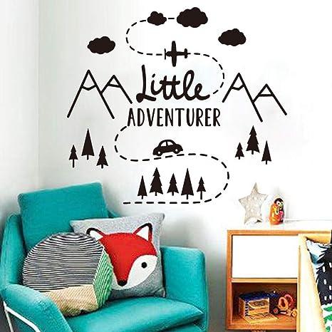 Little Star Wall Sticker Kids Room Nursery Mural Decal Art Home Decor SO