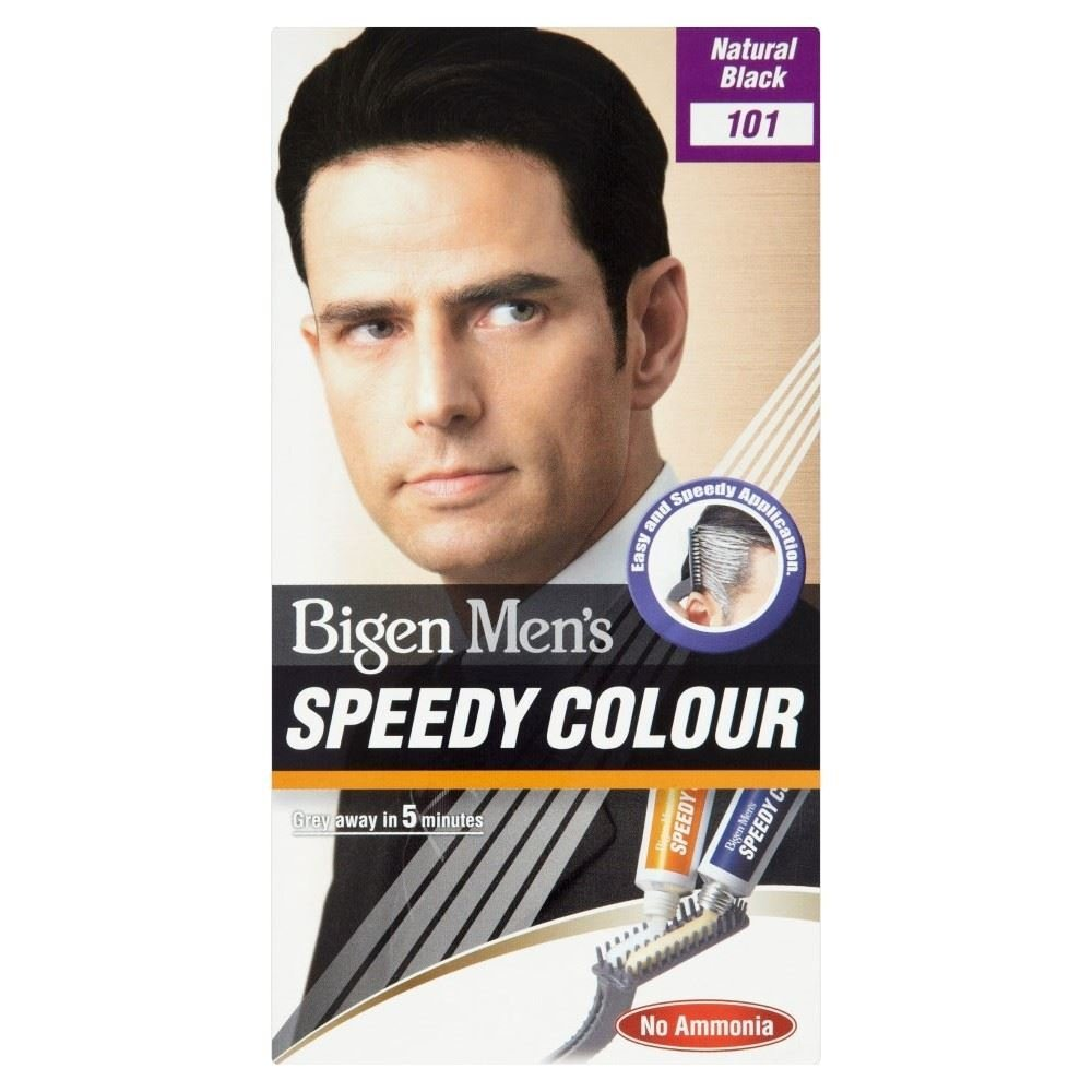 Bigen Men's Speedy Colour (Natural Black) 101 Grocery