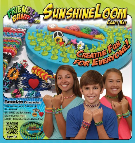 Faber Castell Friendly Bands Sunshine Loom Craft Kit (FBSLCK)
