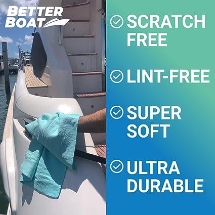 Ultra Saugfähiges Fensterleder Synthetisches Glattes Shammy Handtuch Für Auto Und Boot Marine Grade Trocken Und Reinigungsmittel Küche Haushalt