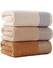 joyliveCY 3pcs algodón Toallas para baño